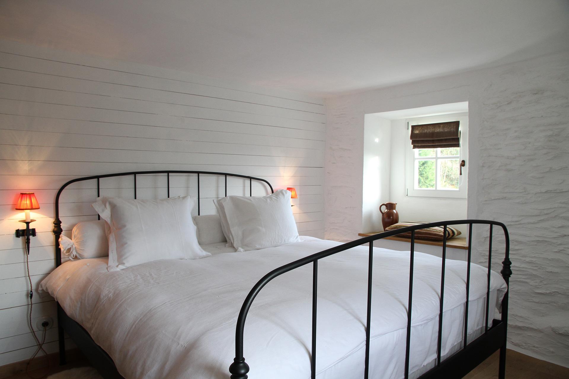 Slaapkamers - Le cottage d'Ollomont
