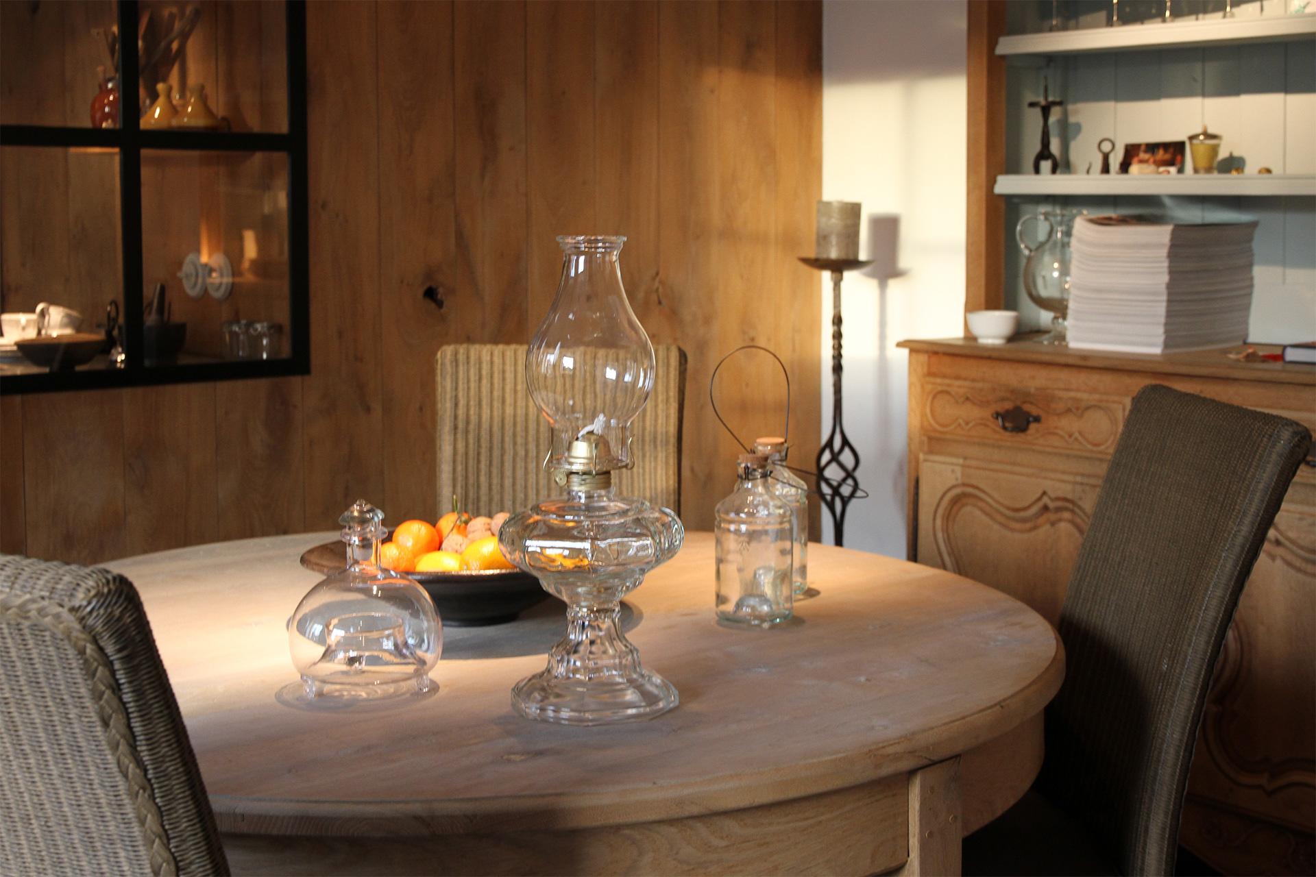 Keuken / Eetkamer - Le cottage d'Ollomont