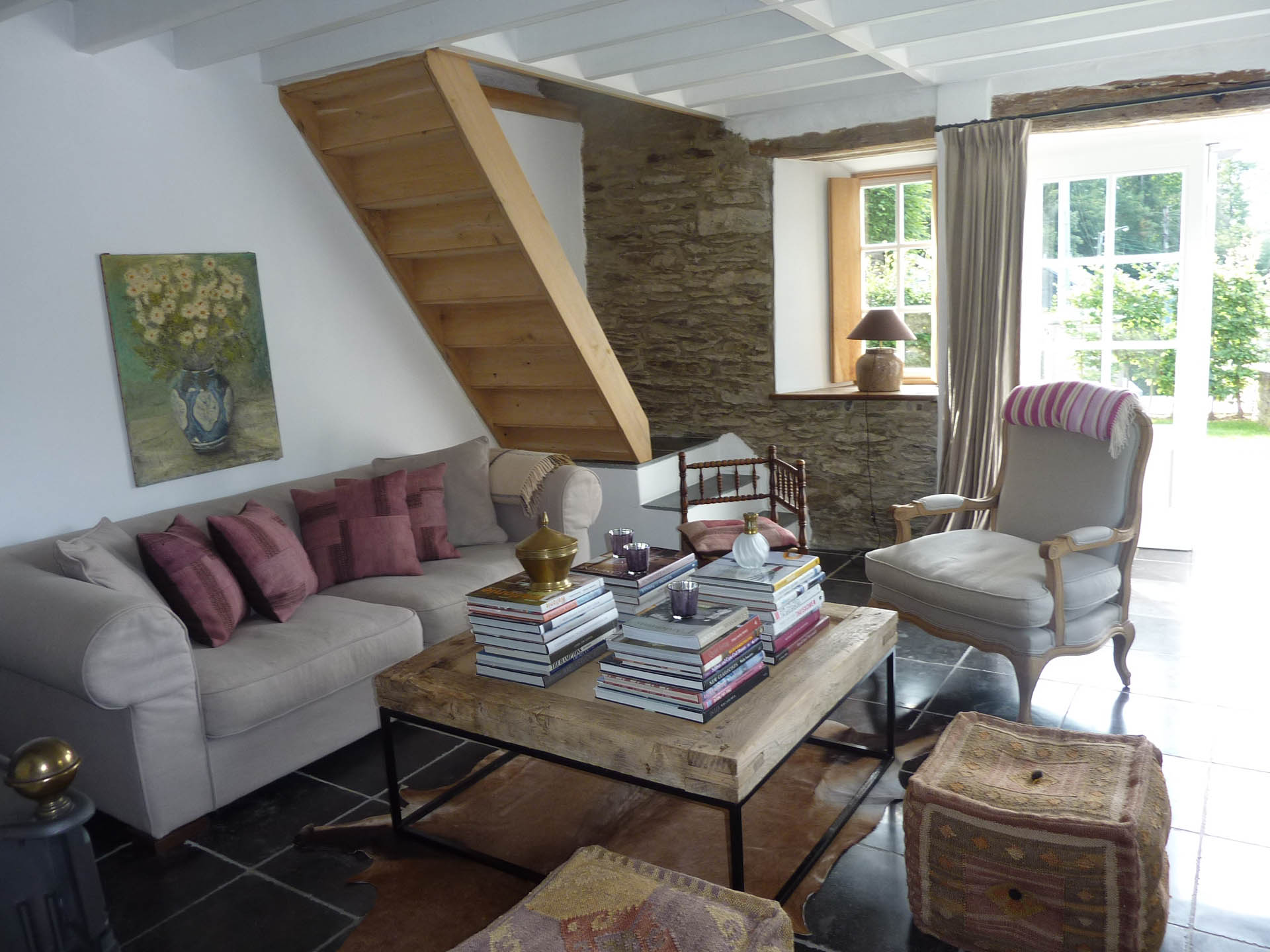 Salon - Le cottage d'Ollomont